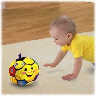 New Fisher Price Laugh Learn Singin Soccer Ball Baby Learning Musical Fun Toys