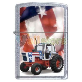 Zippo Case International Harvester America Chrome Practical Cigarette Lighter
