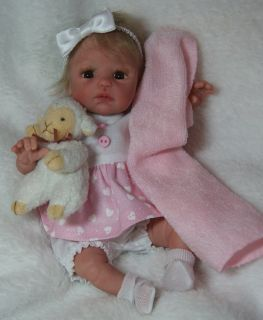 OOAK Hand Sculpted Adorable Baby Girl by Melody Hess