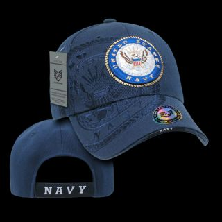 United States Navy Military Baseball Cap Ball Hat Shadow Caps Blue