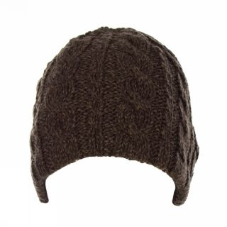 Barts Twister Beanie Unica It One Size US Brown Cap Mens
