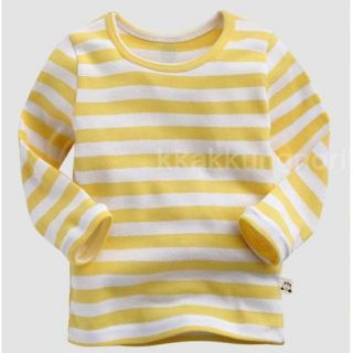 Made in Korea Crayon Stripe Tee Boy Girl Unisex Baby Infant Cotton Clothing