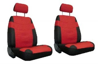 Red Black Car Seat Covers w Steering Wheel Cover Dragon Floor Mats More 4