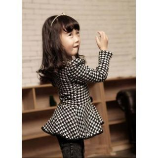 Fashion Baby Girls Princess Top Coat Clothing Kids Casual Dress Skirt Clothes
