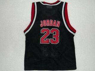 Vintage Champion Michael Jordan 23 Chicago Bulls NBA Jersey Toddler 2T
