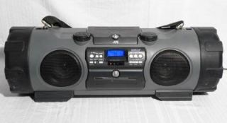 JVC RV NB1 Kaboom Ghetto Blaster Boombox CD Cassette Player Radio Powered Woofer