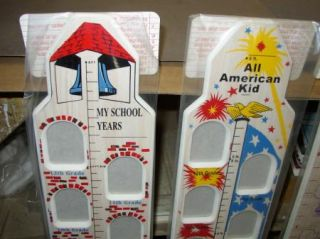Wood Kids Growth Chart School Photo Frame K 12 Snoopy