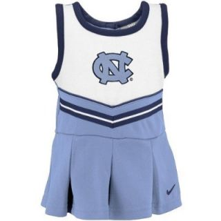 UNC North Carolina Tar Heels Toddler Pre School Nike Cheer Cheerleader Dress