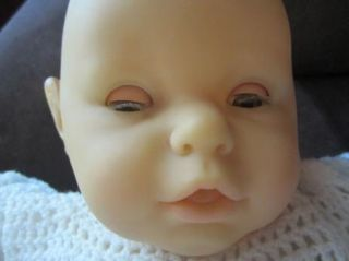 "Very Large Berjusa Baby Doll in Pretty Knit Clothing 22"" Big Head Baby"