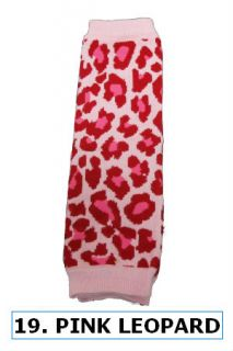 Select 1 Pcs Baby Boy Girl Toddler Leg Arm Warmer Huggers Zebra Leopard Animal
