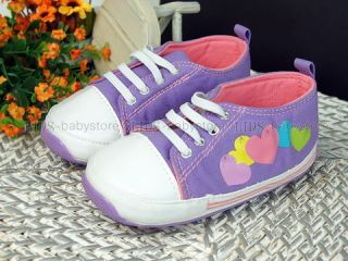 New Toddler Girl Baby Gril Purple White Dress Shoes Size 3 A628