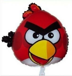 Red Angry Bird Girl Happy Birthday Party Balloon 22""