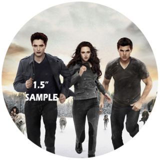 "Twilight 30 x 1 5"" Edible Icing Cup Cake Toppers No Cutting Out Required"