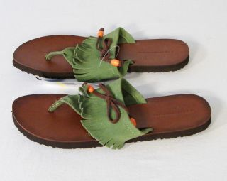 Tommy Hilfiger Womens Flip Flop Thong Sandals Sz 10