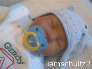 Ashton So Truly Real Sandy Faber AA Native Ethnic Newborn Baby Doll Reborn Play