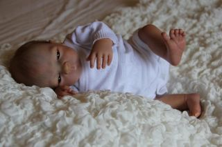 Francisco Reborn Doll Prototype Drew by Heather Boneham