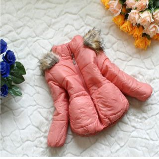 Baby Girls Winter Warm Jacket Gown Clothing Kids Coat Clothes Snowsuit
