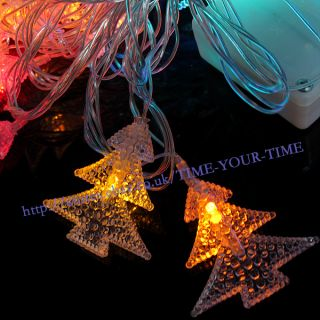 New Colorful 52 LED 9M String Light Fairy Party Christmas Tree String Light 220V