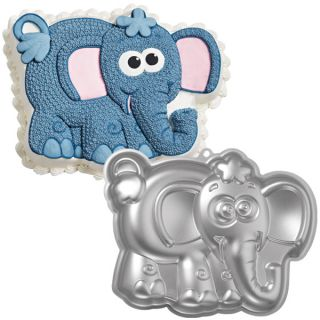 Elephant Cake Baking Pan Wilton Tin Kids Birthday Party Animal Aluminium