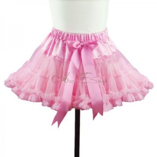 Xmas Girl Princess Pettiskirt Sz 1 8 Y Party Dance Tutu Dress Petti Skirt Gift
