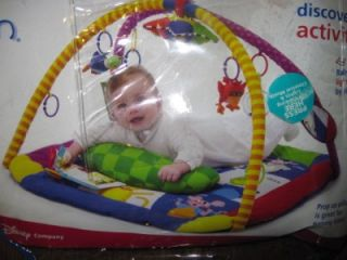 Baby Einstein Classic Discover Play Activity Gym with Star Baby Toys Lot