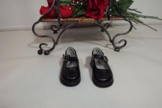 Circo Cute Toddler Girls Black Mary Janes Shoes w Butterfly Side Size 4
