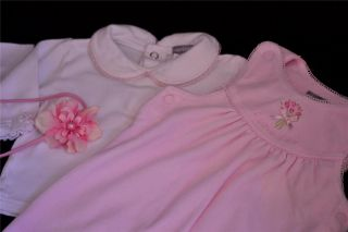 50 PC Newborn Baby Girl Fall Winter Clothes Lot Outfits Size NB 0 3 6 Months