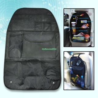 Black Travel Car Auto Back Seat Organizer Holder New