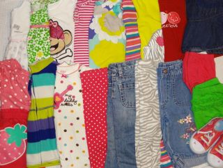 21 Piece Baby Girl Clothes Winter Spring Lot Size 18 Months