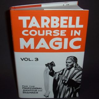 New Tarbell Course in Magic Vol 3 Book Learn Tricks