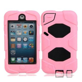 Survivor Heavy Duty Water Proof Cover Case w Belt Clip for iPod Touch 5 5GEN 5th