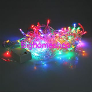 RGB Color 9 5M 100 LED String Fairy Light Christmas Tree Wedding Party 110V USA
