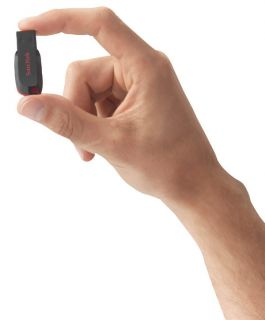 SanDisk Cruzer Blade USB Flash Drive 4GB
