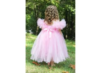 Pink Fancy Princess Dress Birthday Girls Costumes Girls Tutu Dresses