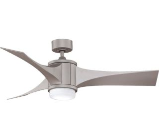"Fanimation FPD7943MG Jennix Metro Gray 52"" Outdoor Modern Ceiling Fan"