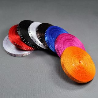 8 Colours Lot 9 5mm Ribbon 8 Meter Satin White Blue Red Black Orange Rose Brown