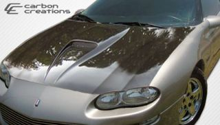 1998 2002 Chevrolet Camaro Carbon Creations Supersport Hood Body Kit