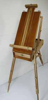 French Artist Easel Beech Wood Custom Shop 'Carmel' Hand Finished New 014