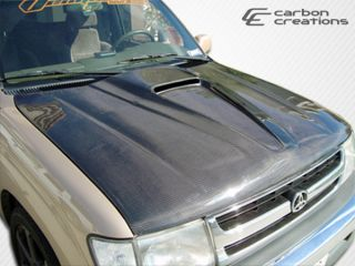 1996 2000 Toyota Tacoma Carbon Creations Supersport Hood