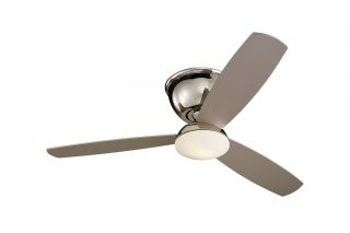 "Monte Carlo 3FSR52PND Freestyle Hugger Flush Mount Modern 52"" Ceiling Fan"
