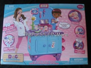 Brand New Disney Doc McStuffins Get Better Check Up Center