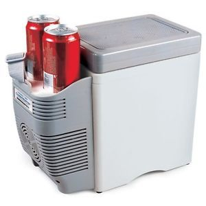 New 12V Car Cooler Food Drinks Warmer Travel Mini Fridge Heater Portable Console