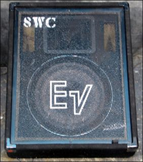 "EV Electro Voice 15"" Model FM 1502 Two Way Floor Monitor Stage Wedge"