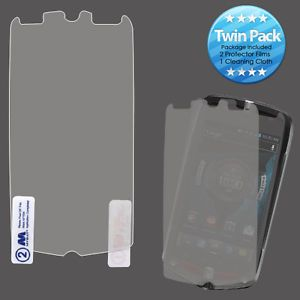 For Casio G'Zone Commando 4G LTE 2X Clear LCD Screen Protector Guard