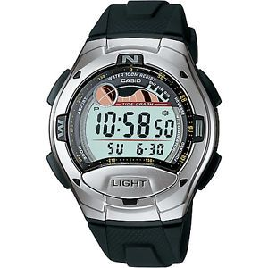 Casio Black Watch for Men Boys Digital Number New Unique Personalized Gifts W753