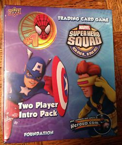 Marvel Super Hero Squad Two Player Intro Pack Trading Card Game