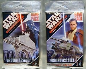 Star Wars Pocketmodel Pocket Model Trading Card Game Pack Ground Assault New