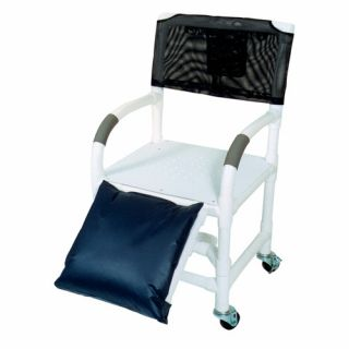 MJM International Standard Deluxe 18 Shower Chair and Optional Accessories