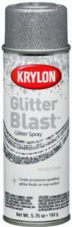 Krylon Glitter Blast Aerosol Spray 5 75 oz Silver Flash