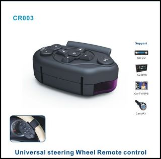Universal Steering Wheel IR Remote Control Learning Car GPS CD DVD  TV
